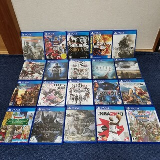 PS4 ソフト 20本セット まとめ売り