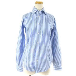 ラルフローレン(Ralph Lauren)のラルフローレン シャツ ブラウス 長袖 ストライプ タック ブルー 2(シャツ/ブラウス(長袖/七分))