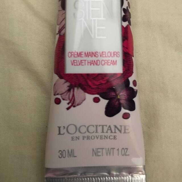 L'OCCITANE(ロクシタン)のロクシタン リボンアルル ハンドクリーム 未使用 コスメ/美容のボディケア(ハンドクリーム)の商品写真