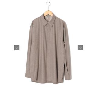 COMOLI - オーラリー WOOL FULLING FLANNEL CLOTH SHIRT
