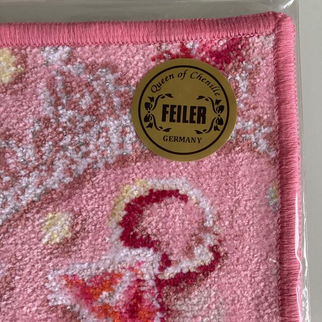 FEILER(フェイラー)のフェイラーハンカチサムシングピンク レディースのファッション小物(ハンカチ)の商品写真
