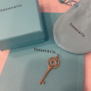 ティファニー(Tiffany & Co.)のティファニー アトラスダイヤモンドキー ネックレスチャーム ペンダント ゴールド(チャーム)