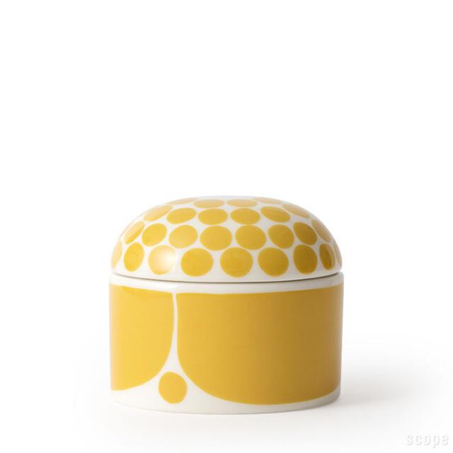 ARABIA(アラビア)のアラビア スンヌンタイ ジャー蓋付 新品 スコープ インテリア/住まい/日用品のキッチン/食器(食器)の商品写真