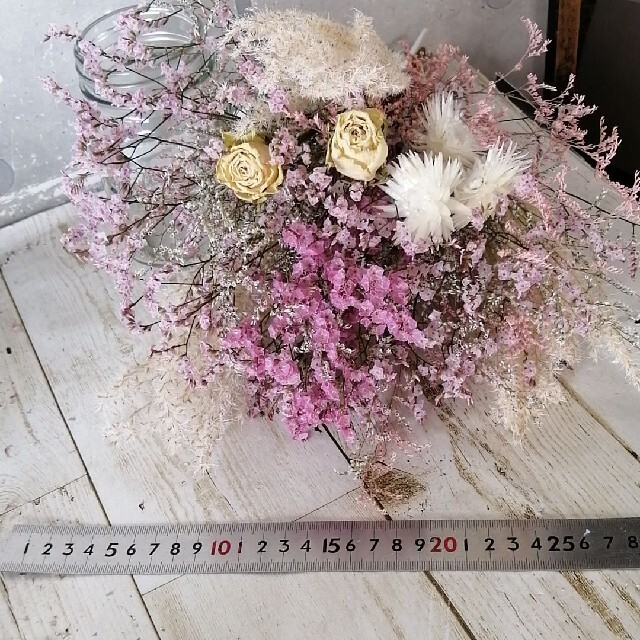 No.16ドライフラワーセット ハンドメイドのフラワー/ガーデン(ドライフラワー)の商品写真