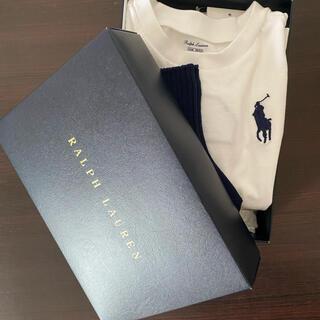 ラルフローレン(Ralph Lauren)の【新品タグ付き】ラルフローレンロンT/くつ下セット(Tシャツ/カットソー)