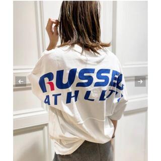 ドゥーズィエムクラス(DEUXIEME CLASSE)の【RUSSEL ATHLETICS/ ラッセル アスレティック】バックプリントT(Tシャツ/カットソー(半袖/袖なし))