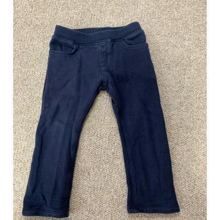 プチバトー(PETIT BATEAU)のプチバトー 紺色長ズボン36m/95cm(パンツ/スパッツ)
