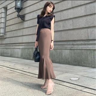 FRAY I.D - 新品タグ付き L'Or ロル Mermaid Knit Skirt