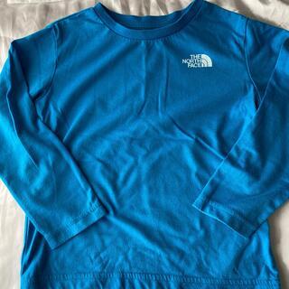 THE NORTH FACE - ノースフェイス ロングTシャツ ブルー 110センチ