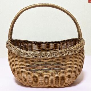 レトロかご、昭和レトロかご、レトロ買い物かご、籠、藤かご、かごバスケット