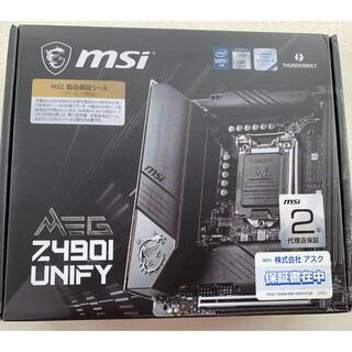 MSI Z490I UNIFY mini ITX i9-11900K対応可