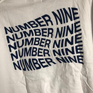 ナンバーナイン(NUMBER (N)INE)のナンバーナイン シンプルTシャツ ビックシルエット 女性も全然着れます(Tシャツ/カットソー(半袖/袖なし))