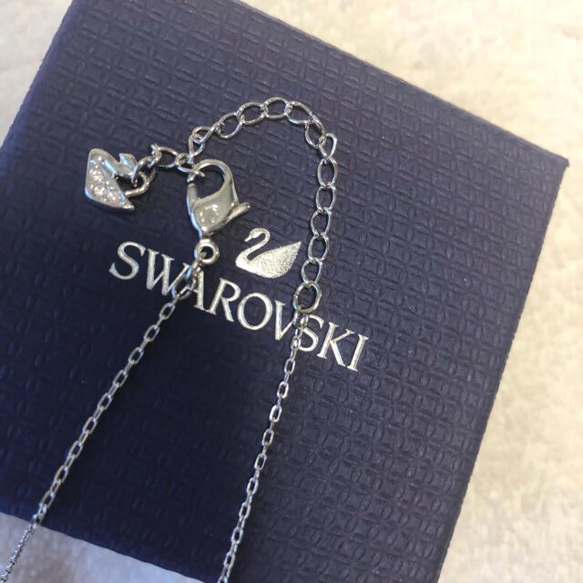 SWAROVSKI(スワロフスキー)のスワロフスキー♡ネックレス レディースのアクセサリー(ネックレス)の商品写真