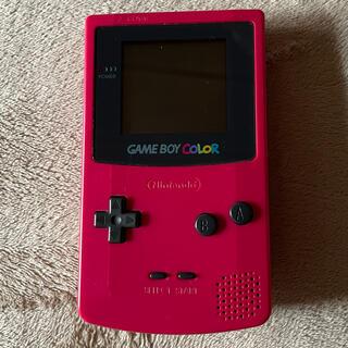 ゲームボーイ(ゲームボーイ)のゲームボーイカラー ポケモンクリスタル カードキャプターさくら(携帯用ゲーム機本体)