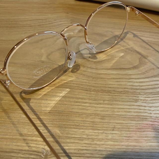 ZARA(ザラ)の値下げ☆ZARA メガネ ケースあり レディースのファッション小物(サングラス/メガネ)の商品写真