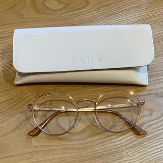 ZARA - ZARA メガネ ケースあり