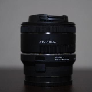 SIGMA - sigma MC-11 canon EF 50mm f1.8 STM セット