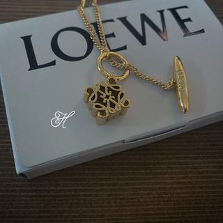 LOEWE - アナグラムネックレス ロエベ