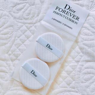 ディオール(Dior)のディオールクッションファンデーションパフスポンジ新品未使用未開封クッションパフ(パフ・スポンジ)