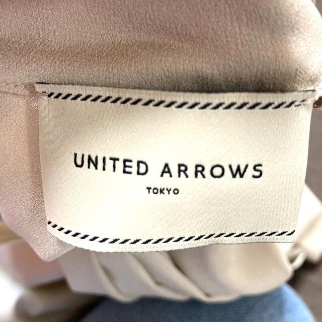 UNITED ARROWS(ユナイテッドアローズ)の【新品】ユナイテッドアローズ デザインブラウス レディースのトップス(シャツ/ブラウス(長袖/七分))の商品写真