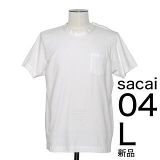 sacai - 新品完売 sacai コットン Tシャツ 4 XL サカイ 定番