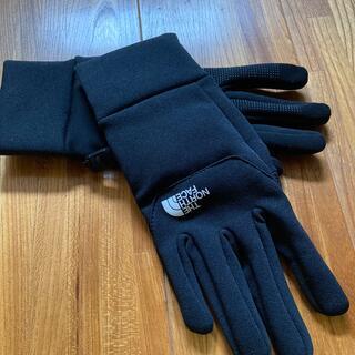 ザノースフェイス(THE NORTH FACE)のノースフェイス イーチップグローブ  S ブラック(手袋)
