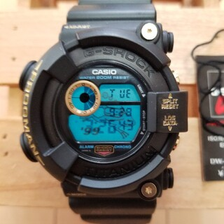 G-SHOCK - DW-8200BU-9AT  ゴールドチタンフロッグマン 99 frogman