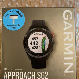 GARMIN - GARMIN Approach S62 GPSゴルフナビ 新品 CT10付き
