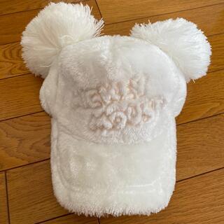 Disney - ディズニーランド ミッキー帽子 もこもこ