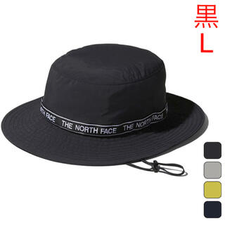 THE NORTH FACE - 新品!黒  L  THE NORTH FACE  レタードハット
