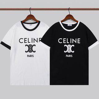 セリーヌ(celine)の美品CELINE半袖のtシャツ(Tシャツ/カットソー(半袖/袖なし))