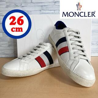 モンクレール(MONCLER)のモンクレール スニーカー レザー MONCLER(スニーカー)