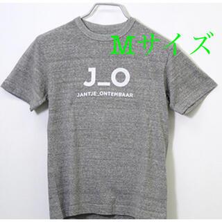 Tシャツ J_O LOGO グレー×ホワイト Mサイズ