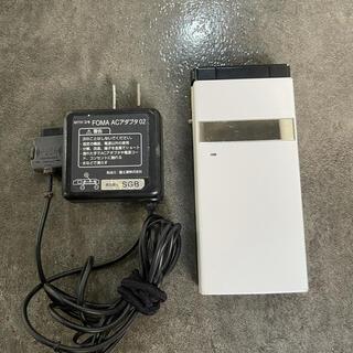 エヌティティドコモ(NTTdocomo)のガラケードコモ docomo P-06C  パナソニック ホワイト中古品(携帯電話本体)