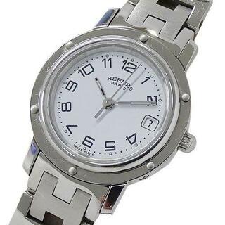 Hermes - エルメス 時計 CL4.210 クリッパー クオーツ デイト レディース