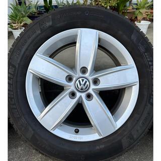 フォルクスワーゲン(Volkswagen)の訳あり VW フォルクスワーゲン トゥーラン 現行 スタッドレスセット (タイヤ・ホイールセット)