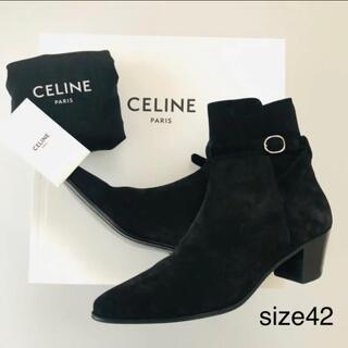 セリーヌ(celine)の新品未使用 CELINE  ブーツ ブラック サイズ42(ブーツ)