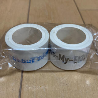キスマイフットツー(Kis-My-Ft2)のキスマイ マスキングテープ(アイドルグッズ)