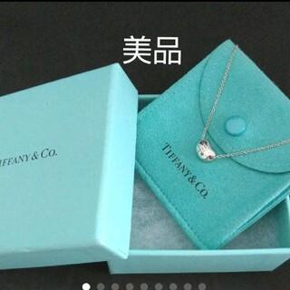 Tiffany & Co. - TIFFANY*美品*ティファニー ビーン(ミニ)ネックレス☆保存袋と保存箱付