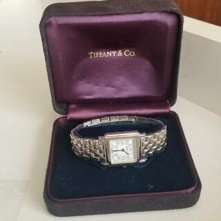 Tiffany & Co. - クーポンでお安く!美品 ティファニー クラシックスクエア ウォッチ 時計