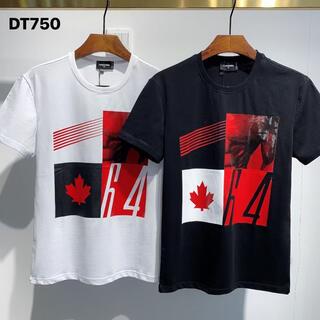 ディースクエアード(DSQUARED2)のDSQUARED2  DT750 2枚9100円 Tシャツ メンズM-3XL(Tシャツ/カットソー(半袖/袖なし))