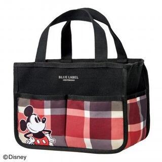 ミッキーマウス(ミッキーマウス)のsweet 付録 ブルーレーベル×ミッキーマウス インテリアバッグ(トートバッグ)