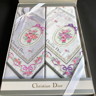 Christian Dior - クリスチャンディオール ハンカチセット