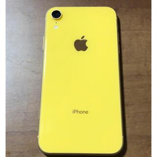Apple - iPhone xr 64gb SIMフリー イエロー