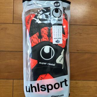 ウールシュポルト(uhlsport)の【新品未使用】ウールシュポルト スーパーレジストキーパーグローブ サイズ8.5(その他)