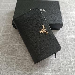 PRADA - 素敵★プラダ 二つ折り財布 名刺入れ 黒