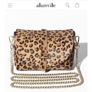 DEUXIEME CLASSE - allureville アルアヴァイル ハラコチェーンショルダーバッグ