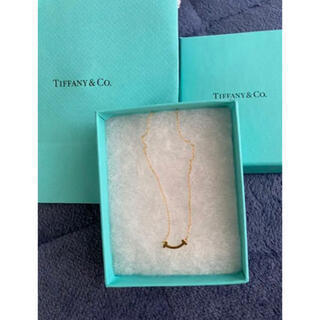 Tiffany & Co. - Tiffany  ティファニー Tスマイル ミニ ゴールド