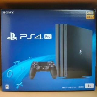 PlayStation4 - PS4 プレイステーション4 Pro ジェット・ブラック 1TB