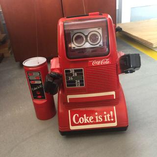 コカコーラ(コカ・コーラ)のコカ・コーラ トーキングロボット ラジコン 昭和レトロ 非売品 ビンテージ(ノベルティグッズ)
